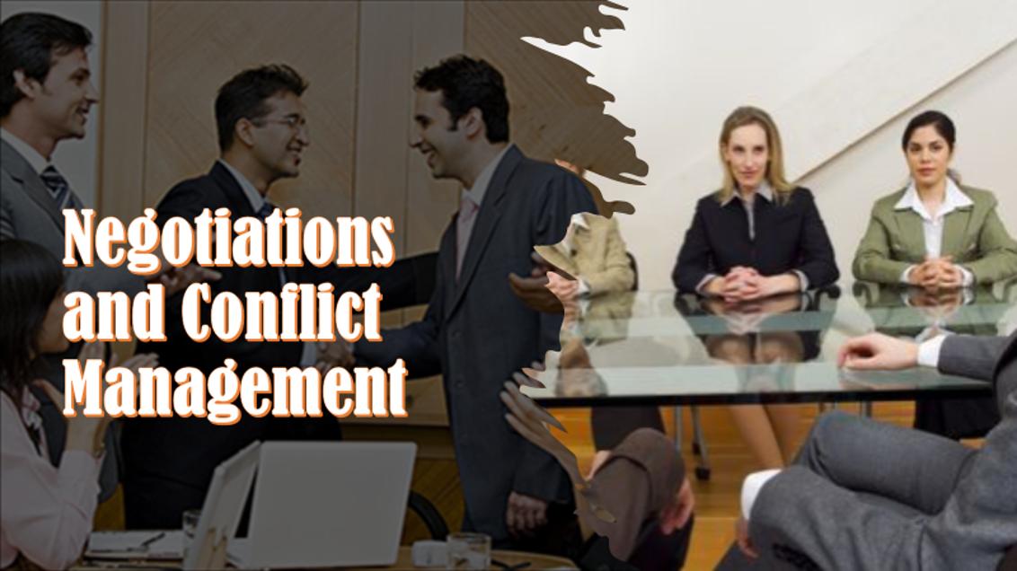 Negotiation&ConflictManagement